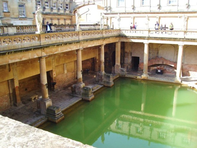 Everyone should still visit the Roman Baths. Just be sure to add more to your itinerary.