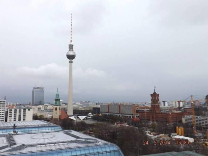 Skyline with TV Tower