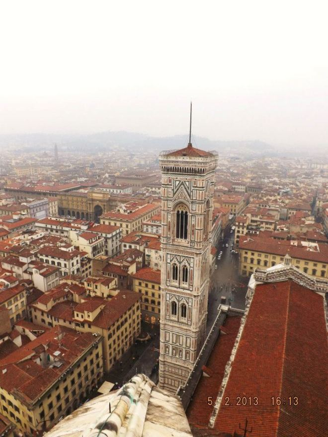 I may not have to walk far to get to my office, but I go a lot farther if it means getting back to Florence someday.