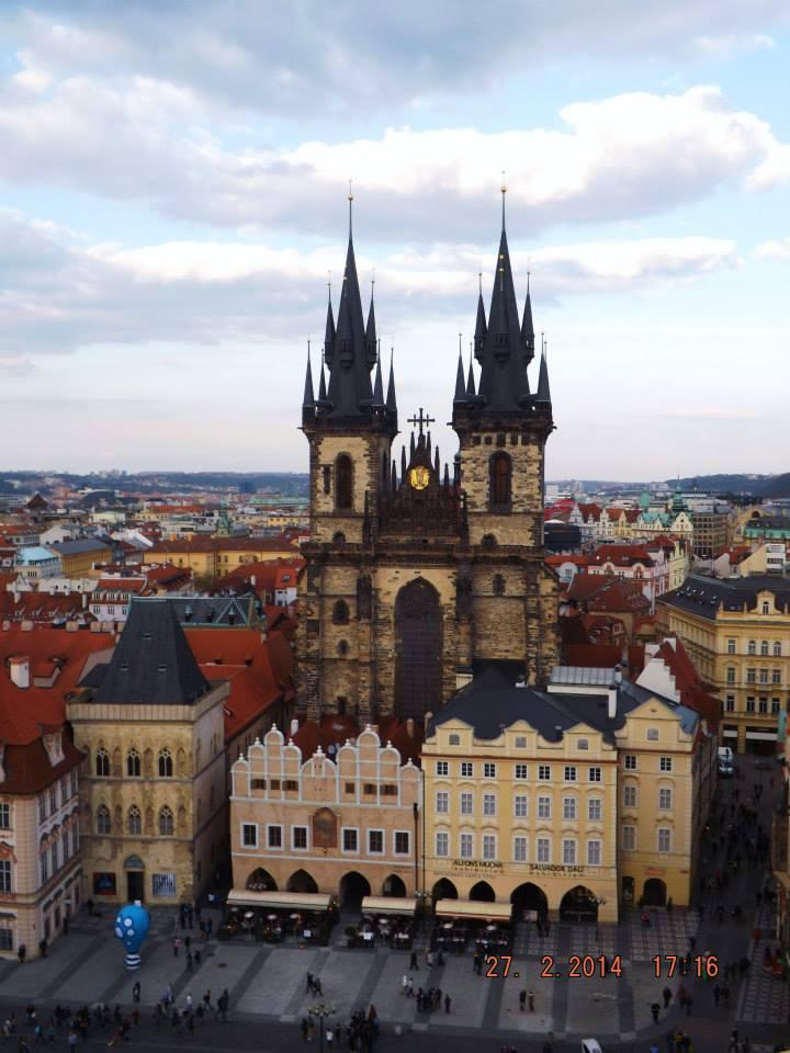 Prague Church of Our Lady Before Tyn 2