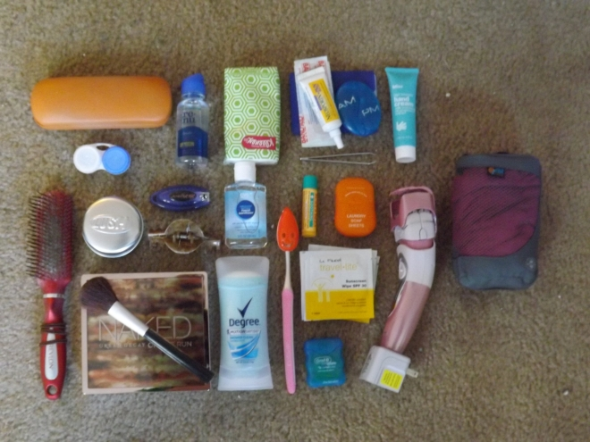 Backpack Toiletries